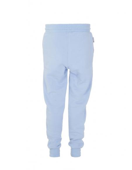 Spodnie dresowe błękitne